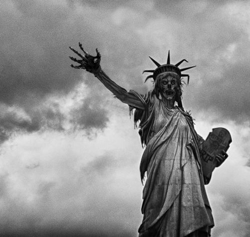 Apocaplyptic Lady Liberty
